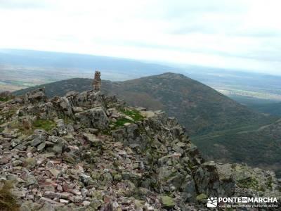 Pico Cerillón - La Morra - Montes de Toledo; excursiones de senderismo; viajes de montaña
